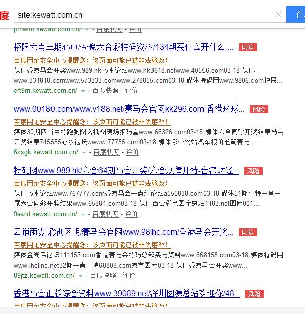域名泛解析案例