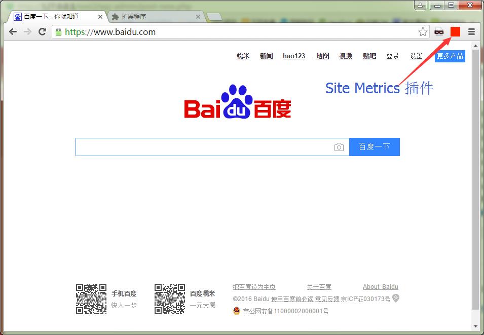 网站TDK查看神器:SiteTDKs和SiteMetrics,支持360谷歌浏览器