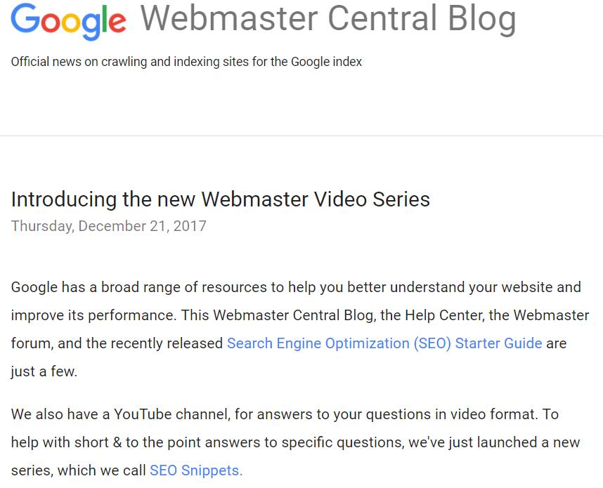 英文站优化的朋友注意:谷歌更新SEO入门指南文