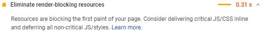 (2020教程)利用谷歌PageSpeed性能检测提升网站速度得分