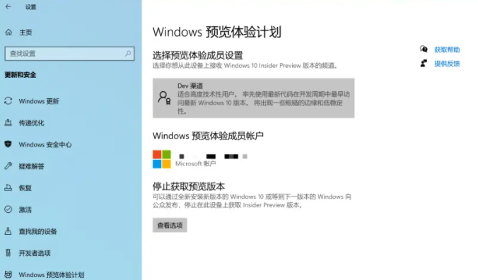 windows预览体验计划空白(Win11可解决)